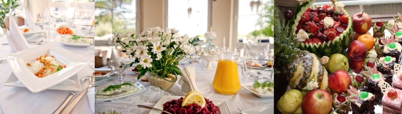Familienfeiern - Arrangements - Tischdeko