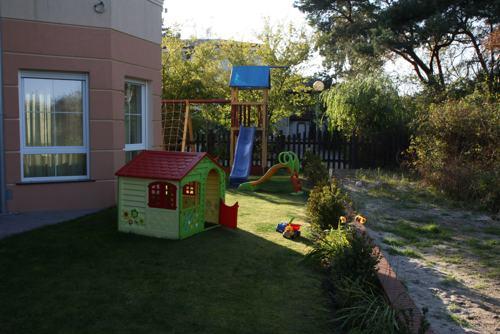 Kinderspielplatz in der Villa del Mar