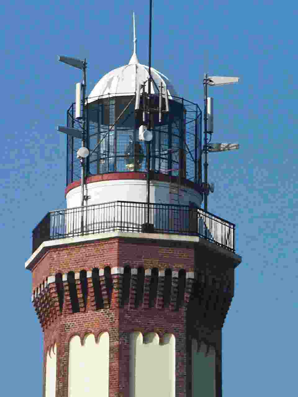 Seebad Niechorze Leuchtturm Technik