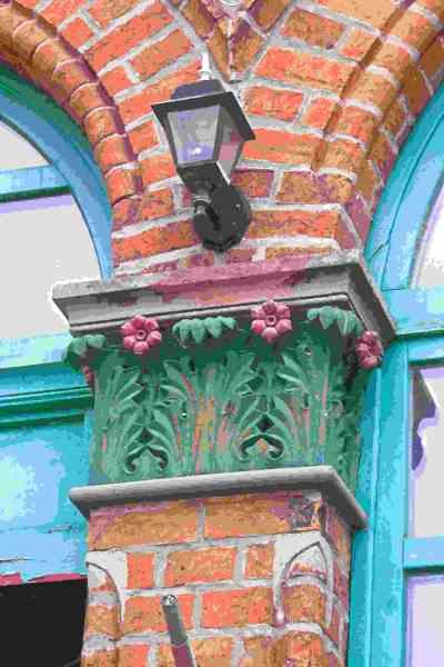 Seebad Niechorze Leuchtturm Details